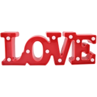 Letreiro Love Decorativo com Led (1un)